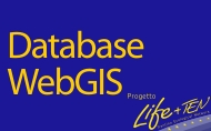 Accesso to the database and the public webgis