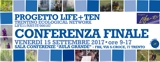 Banner Conferenza finale progetto Life+TEN